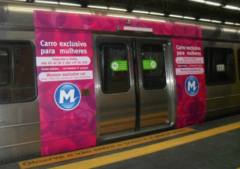 Women only carriages in s o paulo metro trains the solution to harassment eye on latin america - Carrage metro ...