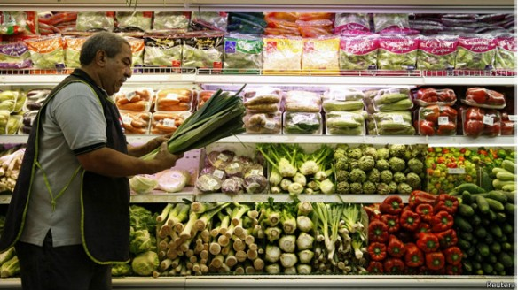 venezuela supermarket bbc reuters