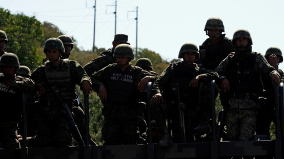 mexico armed forces getty bbc