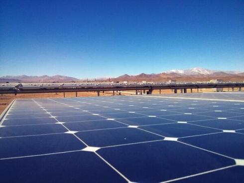 chile solar power atacama santiago times