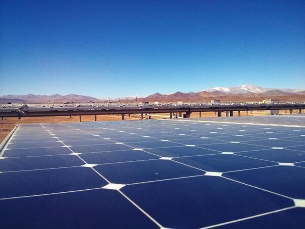 chile solar power atacama santiago times