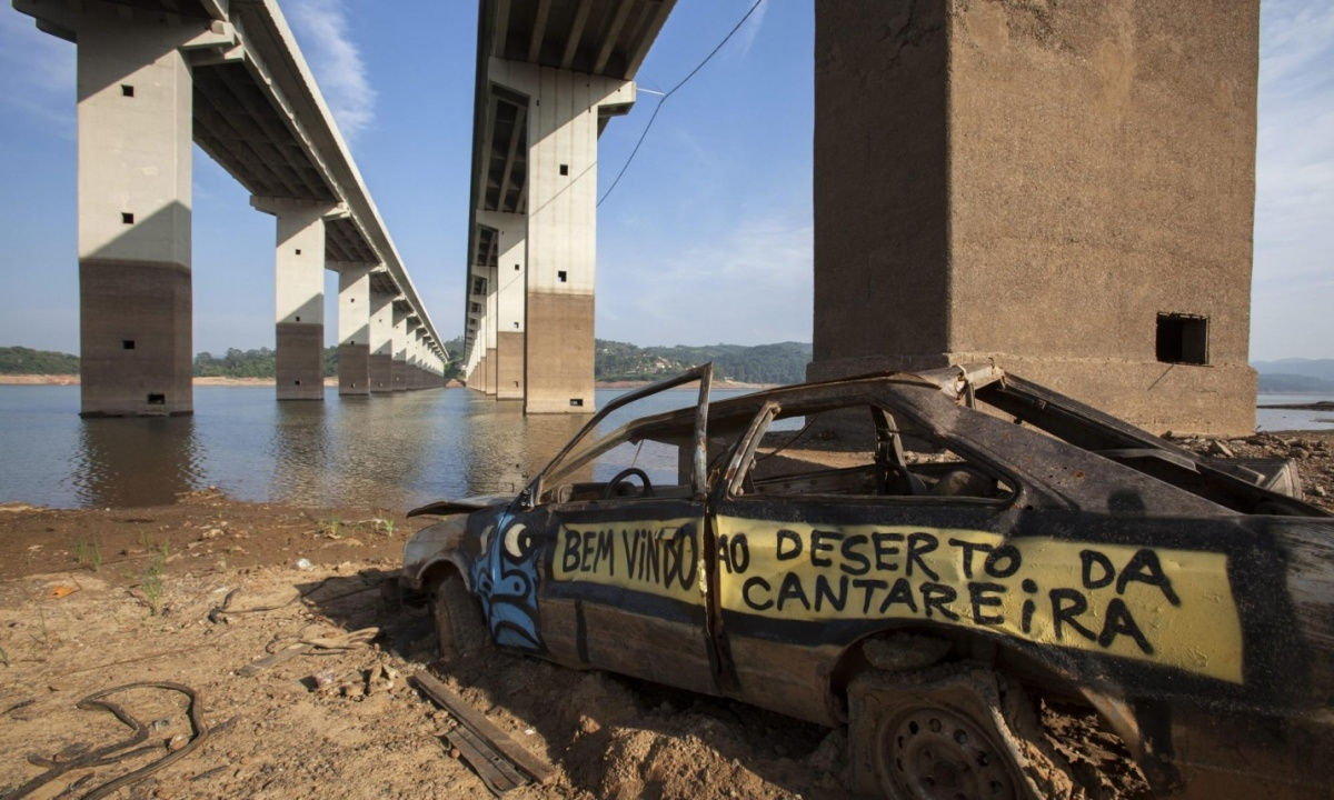 Brazil's descent into drought chaos says a lot about humanity's approach to climate change