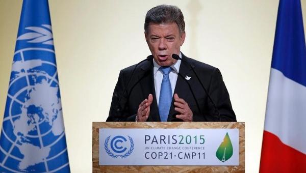 colombia santos cop21 reuters telesur