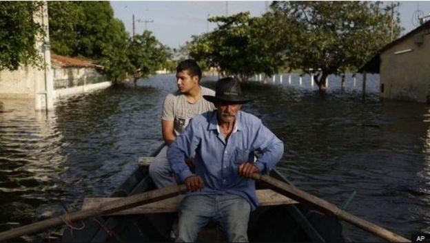 paraguay floods ap bbc