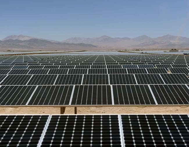 chile el salvador sunpower atacama afp