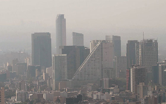 mexico city air pollution la cronica